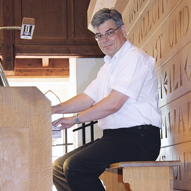 Kirchenmusikdirektor Thomas Gindele