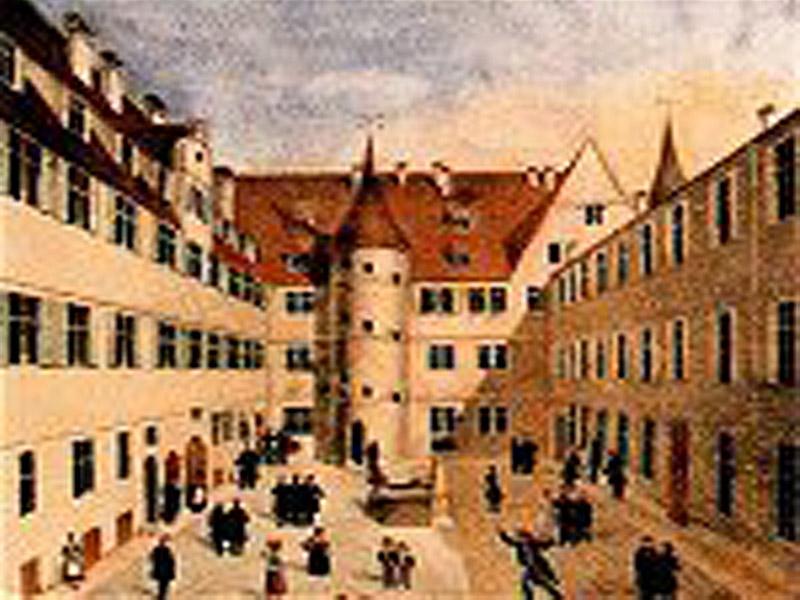 Wilhelmsstift T?bingen historisch
